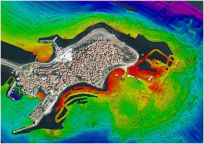 Archaeological researches in the waters off the ancient city of Nessebar